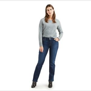 Levis Straight Leg 505 Mom Jeans